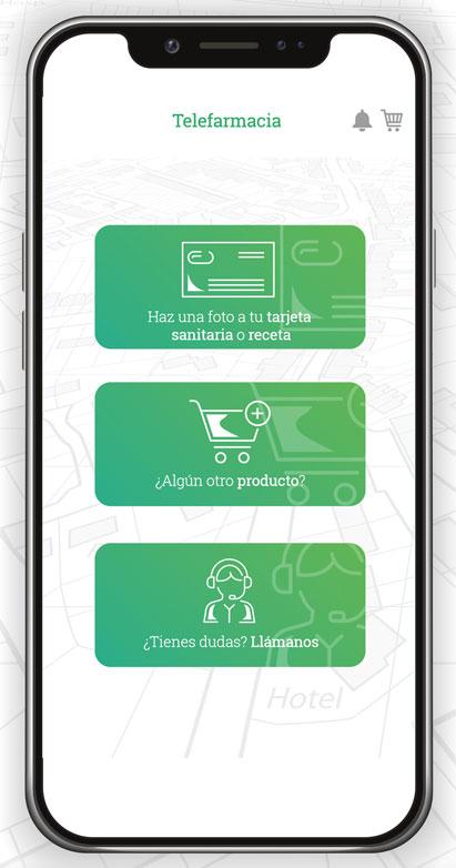 Telefarmacia App - Comenzar un pedido
